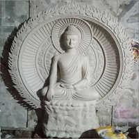 Fibre Buddha Statue