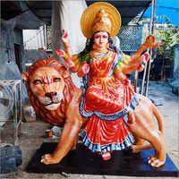 Fibre Shera Wali Mata Statue