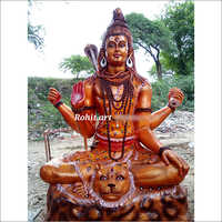 Fibre Shiv Ji Statue
