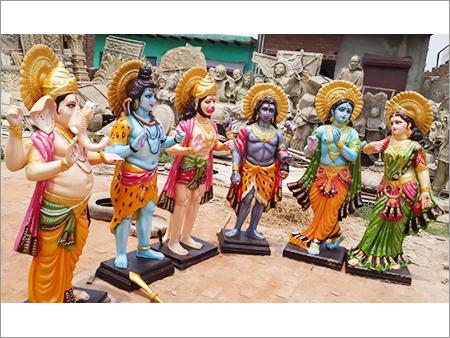 Fibre God Statues
