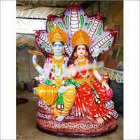 Fibre Lord Vishu Statue