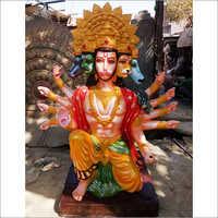 Fibre Lord Hanuman Statue