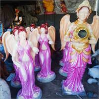 Fibre Water Fairy Statue