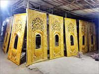 Fibre Jalli Entry Gate