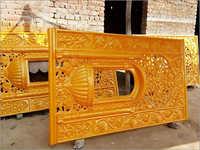 Fibre Jalli Gate