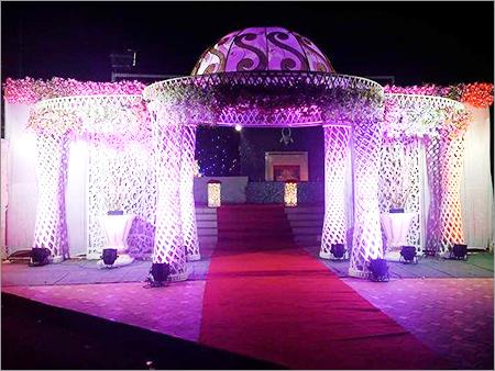 Fibre Wedding Entrance