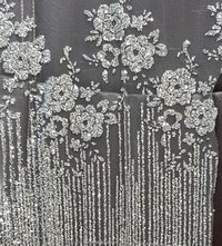 Designer Glitter Fabric