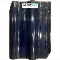 Cobalt Blue Shiny Roofing Tiles
