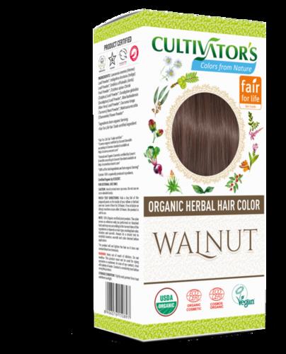 Organic Herbal Hair Color Walnut