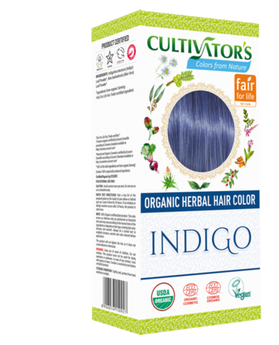 Organic Herbal Hair Color Indigo