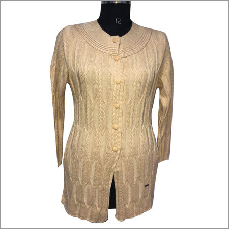 Ladies Long Sweater