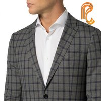 Checks Collection Blazer Suiting Fabric
