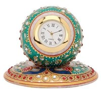 Marble Handcrafted Marble Plated Watch Clock
