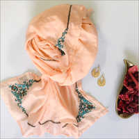 cotton silk embroidred scarves