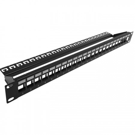1U 24PORT FTP Blank Patch Panel