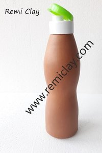 Terracotta Plain Bottle