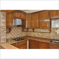 Teak Wood Modular Cabinet