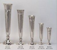 Handcrafted Aluminum Flower Vase
