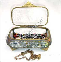 Designer Glass Jewelry Box