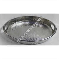 Hammered Aluminum Tray