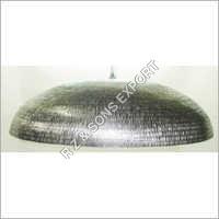 Hammered Aluminum Pendant Lamp