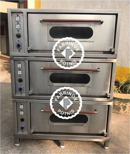 SS 3 DECK PIZZA OVEN