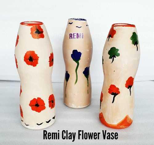 Clay Flower Vase