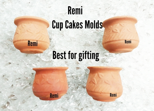 Clay Cup Cake Mold