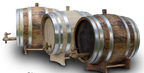 French Oak Barrel 5Ltrs