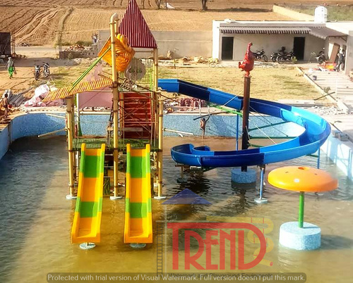 Multi activity water play station