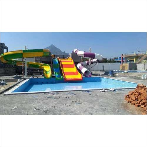Multilane, racer, uphill, Water Slide