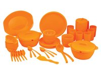 64 Pieces Round Dinner Set