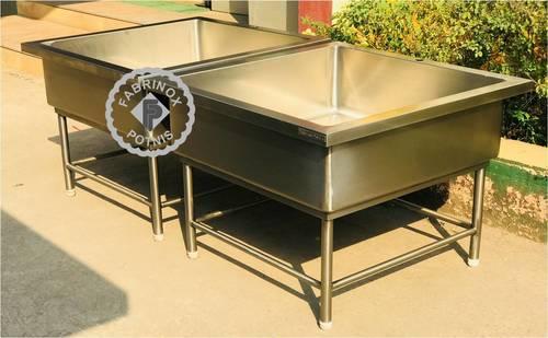 Stainless Steel Soak Sink