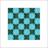 Aqua mosaic tiles