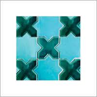 Star N Cross Mosaic Tile