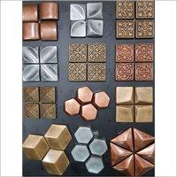 3D Mosaic Metal Bonded Tiles