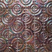 3D Metallic Glaze Mosaic Tile