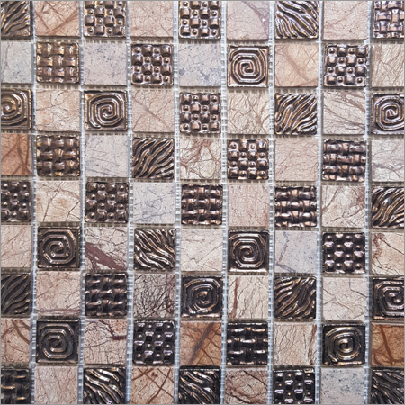 Chess Board Mosaic Tile