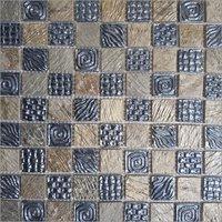 Chess Board Mosaic Tile