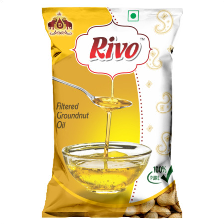 1 Ltr Pouch Filtered Groundnut Oil