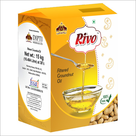15 kg Jar Filtered Groundnut Oil