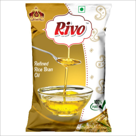 1 Ltr Pouch Refined Rice Bran Oil