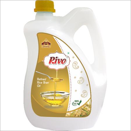 5 Ltr Jar Refined Rice Bran Oil
