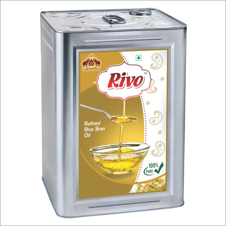 15 Ltr Tin Rice Bran Oil