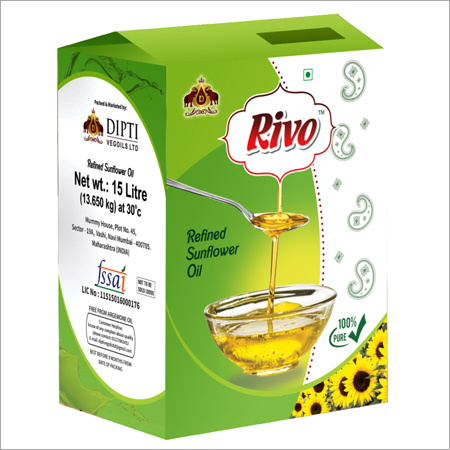 15 Ltr Jar Sunflower Oil