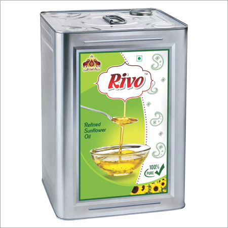 15 Ltr Tin Sunflower Oil