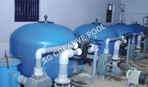 Filtration plant at gorakhpur