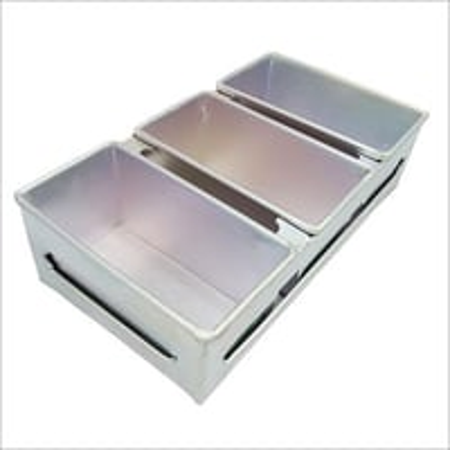 Karishma Aluminium 3 Piece Bread Tin