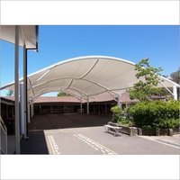 Barrel Vault Tensile Structure
