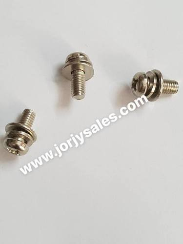 Screw With Washer & Spring Washer